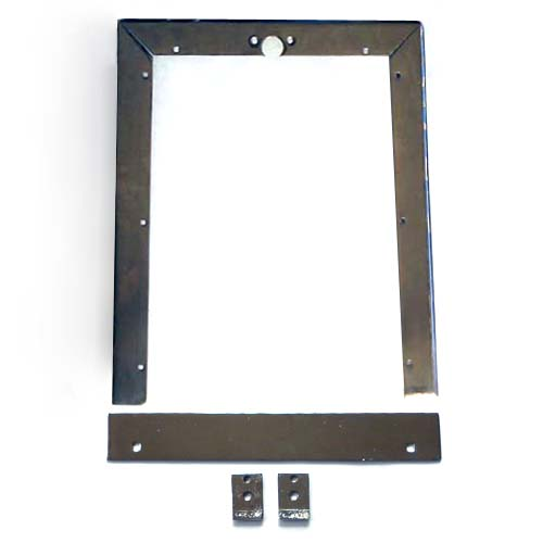 Caille Cabinet--Back Door Frame With Bottom Flat Plate